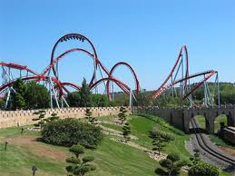 Does this ride look scary or what?